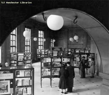 Exhibitions Hall, 1955