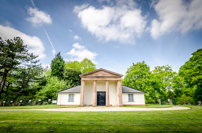 A photo of the Heaton park Dower house