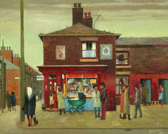 The Grocery Shop, Beswick by Harry Kingsley.