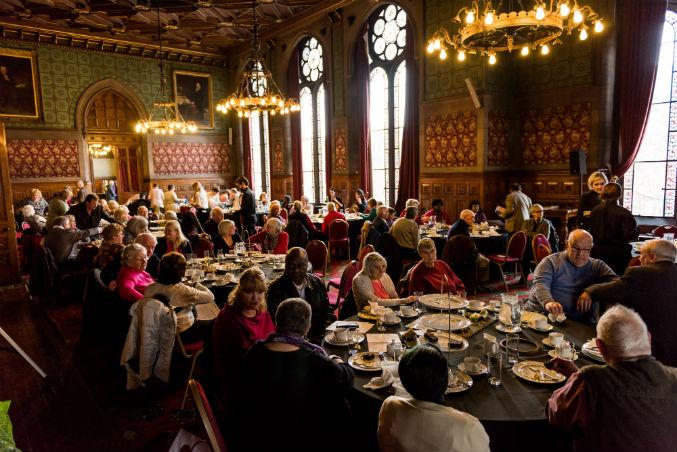 Lord Mayor's tea party