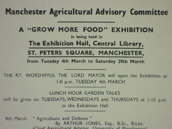 Grow More Food Exhibition poster, 1940 M740/11/2/32