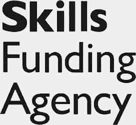 The logo for the skills funding agency