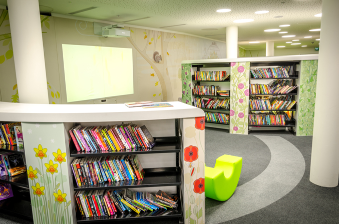 The Children's Library at Central Library