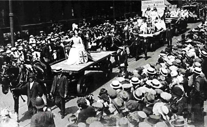 The 1921 Lord Mayor's Pageant