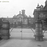 Withington Workhouse gates 1900
