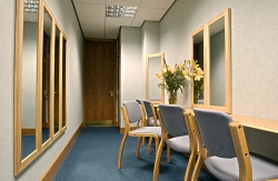 Private waiting room within the Pankhurst Suite