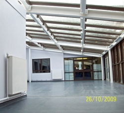 Burnage Media Arts College dining extension